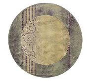 Sphinx Scrolls 6 x 6 Round Rug by Oriental Weavers - H127018