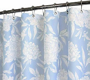 Watershed 2-in-1 Peony 72x72 Shower Curtain - H186218