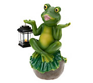 Bethlehem Lights Indoor Outdoor Character with Lantern & Timer - H199518