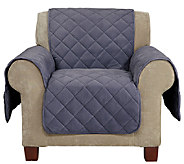 Sure Fit Chair Furniture Cover with 1 Memory Foam Seat - H204318