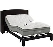 Ships by 2/20 Sleep Number QSeries Limited Edition FL Adj. Mattress Set - H211718