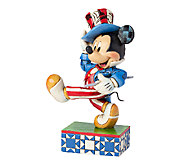 Jim Shore Disney Traditions Yankee Doodle Mickey Figurine - H284618