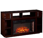 Berini Media Fireplace - Espresso - H285418