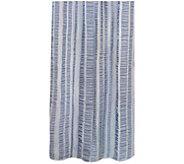Seersucker Banded Columns 72 x 72 Shower Curtain - H290818