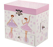 Mele & Co. Jolie Girls Musical Ballerina Jewelry Box - H292218
