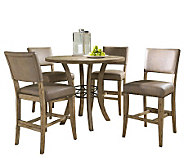 Hillsdale Charleston 5pc Ctr Ht Rnd Dining Setw/Parson Chairs - H358718