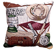 Lets Go Fishing Pillow - H361618