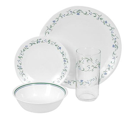 Corelle Livingware Country Cottage 16 pc Dinnerware Set