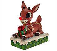 Jim Shore Rudolph Traditions Rudolph with Lighted Nose - H206519