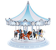 As Is Mr. Christmas 16 Frosted Carousel Music & Animation - H207519