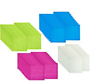 As Is Rayon made from Bamboo Set of 75 Reusable Towels - H209819