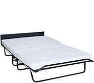 JayBe Fold Away Double Bed with Mattress - H210619
