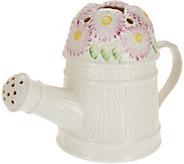 Belleek Watering Can Flower Holder - H210919