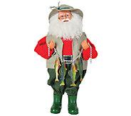 15 Fish Stringer Santa by Santas Workshop - H286419