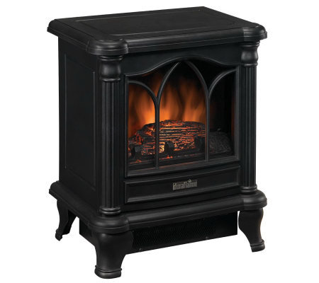 duraflame portable electric stove heater. Black Bedroom Furniture Sets. Home Design Ideas