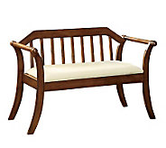 Derby Oak Finish Bench - H359519