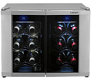 Cuisinart 12-Bottle Dual Zone Wine Cellar - H359719