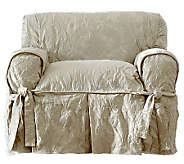 Sure Fit Matelasse Damask Chair Slipcover - H359819