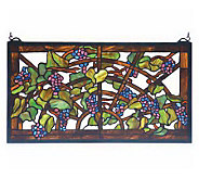 Tiffany Style Tiffany Grape Arbor Window Panel - H131420