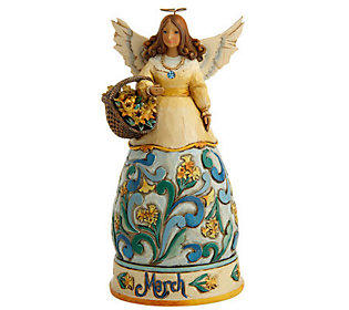 Jim Shore Heartwood Creek Angel of the Month -March