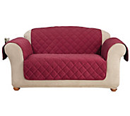 Sure Fit Loveseat Furniture Cover with 1 Memory Foam Seat - H204320