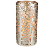 7 Laser Etched Sleeve with Flameless Candle byCandle Impressions - H205720