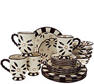 Temp-tations 20-piece Old World Service for 4 Dinnerware Set - H205820