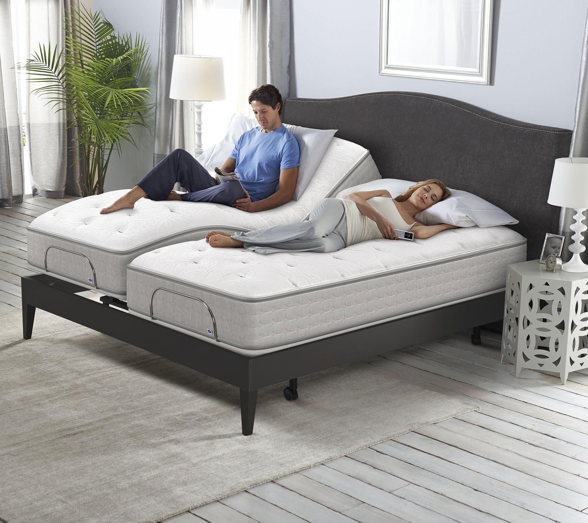 Sleep Number Cse Split King Adjule Base Mattress Set H215420