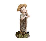 Design Toscano Farmer Frank Hand Painted Classic Garden Statu - H284420