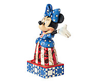 Jim Shore Disney Traditions Yankee Doodle Minnie Figurine - H284620