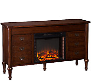 Wellton Electric Fireplace Media Console - H285520