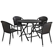 Palm Harbor 5-Piece Cafe Dining Set - H289520