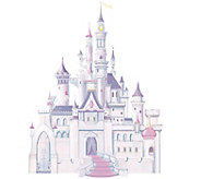 RoomMates Disney Princess Castle Peel & Stick Giant Wall Decal - H291520