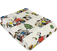 Berkshire Blanket Peanuts VelvetLoft Cozy Christmas Snoopy - H295020