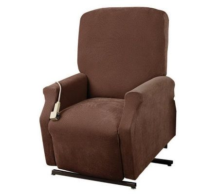 Sure Fit Large Lift Recliner Slipcover Qvc Com