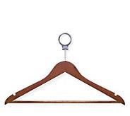 Honey-Can-Do 24-pack Basic Cherry-Finish Wood Suit Hanger - H356620