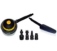 Blue Clean Brush Kit with Adapters - H361920