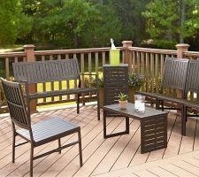 Cosco Smartfold Outdoor Folding Bench