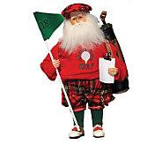 15 Golfing Santa by Santas Workshop - H363220