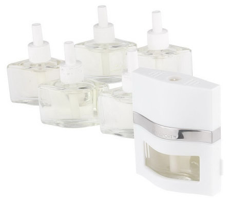 "Slatkin & Co. ""SCENTPORT"" Aromatherapy Home Fragrance Diffuser Set"