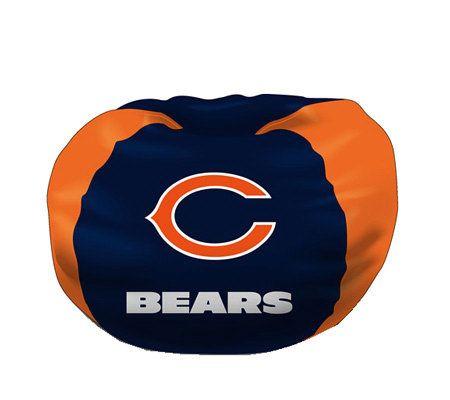 Nfl Chicago Bears Bean Bag Chair Qvc Com
