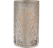 9.75 Laser Etched Sleeve with Flameless Candle byCandle Impressions - H205721