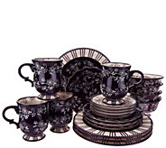 Temp-tations 20-piece Floral Lace Service for 4 Dinnerware Set - H205821