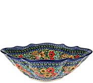 Lidias Polish Pottery Stoneware Cezar Bowl - H206121