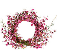 Spring Floral Wreath in Choice of Flower by Valerie - H210721