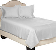 Northern Nights Rayon made from Bamboo Cotton Filled King Coverlet - H210821