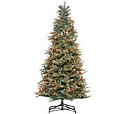 As Is Bethlehem Lights 6.5 Blue Spruce Christmas Tree - H215121