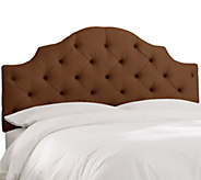 King Tufted Notched Headboard by Valerie - H286621