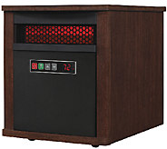 Duraflame Matisse PowerHeat Infrared Rolling Heater w/ Remote - H286821