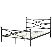 PedicSolutions Erin Metal Queen Bed Frame - H287421